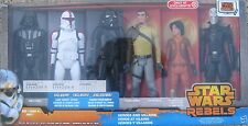 Star Wars Rebels Heroes and Villains Six Pack 12-In Figure A677 Target Exclusive