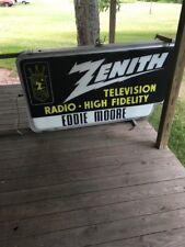 Vintage  Zenith Sign Original