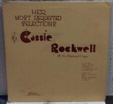 Cassie Rockwell At The Hammond Organ Record BP-3015