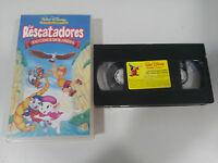 LOS RESCATADORES EN CANGUROLANDIA - VHS CINTA TAPE LOS CLASICOS DE WALT DISNEY