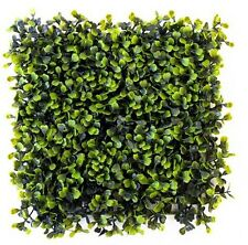 Artificial Deluxe Boxwood Hedge Panel