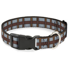 Plastic Clip Collar - Star Wars Chewbacca Bandolier Bounding Browns/Gray