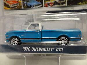 Greenlight 1972 CHEVROLET C-10 Blue '72 Pickup Truck CHEVY 100 YEARS