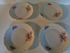 Walbrzych set of 4 salad plates floral