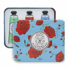 La Chatelaine Hand Cream (Hand Lotion) Gift Setcontains 20% Shea Butter 3 Tubes