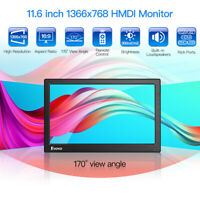 "Portable 12"" LCD HDMI Monitor with VGA BNC AV for PC TV-Box Business FPV Display"