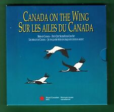 1995 Canada on the Wing 4 Coin Sterling Silver RCM Set