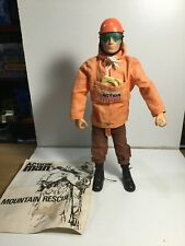 Vintage Palitoy 1964 Action Man Mountain Rescue Blond Flocked Hair