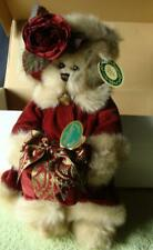 B23 Virginia Teddy Bear The Bearington Collection Original box & tags