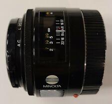 Minolta Maxxum AF 50mm f1.7 I Lens 50/1.7 Sony