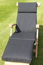 Garden Furniture Cushion- Cushion for Garden Steamer Chair In Black