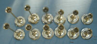 Lot of 14 Vintage Brass Candle Holders Weddings Holidays Home Decor Candlestick