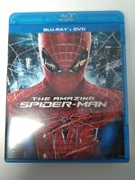 The Amazing Spider-Man (Blu-ray/DVD, 2012, 3-Disc Set) Free Shipping