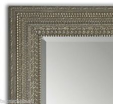 XL LARGE ANTIQUE SILVER MIRROR DRESSING FLOOR WALL FULL LENGTH LEANER HORCHOW