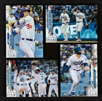 2020 Topps Series 1 & 2 LOS ANGELES DODGERS World Series Team Set 29 Cards