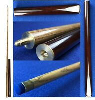 """2 Pieces High Quality Handmade Snooker Cue 57"""" Ash Shaft 2 Piece Tip 9mm SS007"""