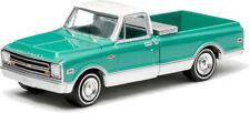 1:64 GreenLight *COUNTRY ROADS R12* Green & White 1968 Chevy C10 Pickup *NIP*