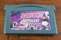 Nintendo Game Boy Advance GBA Scooby-Doo! Unmasked ~ Game Cartridge ONLY