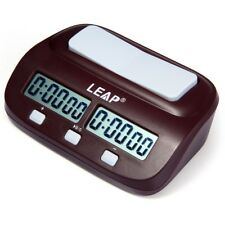 PQ9907S LEAP Digital Chess Clock I-go Count Up Down Timer for Game Competition