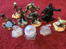 Disney Infinity 3.0 Star Wars Bundle of 7 Figures Plus 3 Playset Pieces