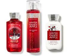 Bath & Body Works Winter Candy Apple Fragrance Mist, Gel & Body Lotion NEW