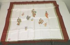 WOMEN'S CORBELYN MILANO ASIAN JAPANESE HAND ROLLED HAND STITCHED SILK SCARF NEW