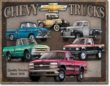 Chevy Trucks Chevrolet 1940er Grafik Vintage Style Metall Schild