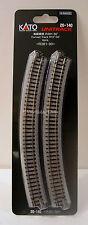 "Kato 20140 N Gauge Unitrack Curved Track R15""-30 Degrees. R381-30. 4pcs. New"