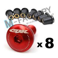 Red CBR Logo Windscreen Fairing bolts for Honda CBR900RR CBR954 CBR929 RR