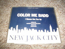 "MCD - ""I wanna sex you up"" NEW JACK CITY - 4 Tracks ""Color me badd"""