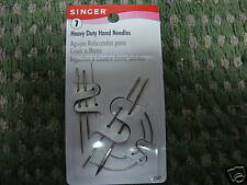 Singer Upholstery Repair  Hand Needles, Canvas, Leather