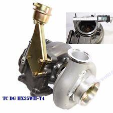 """Upgrade T4 Flange 16cm HX35W Diesel Turbo 4"""" Exhaust V-band Outlet Diesel 6BTA"""
