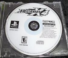 Mega Man X4 Disk Only! (Sony PlayStation 1, 1997)