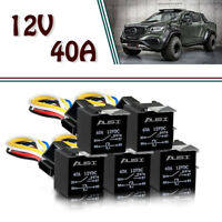 5 Pack 12V 30/40A 5Pin SPDT Relay with Wires&Harness Socket FOR PICKUP-Dodge
