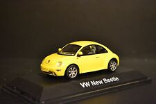 VW New Beetle 1997 in scale 1/43 dealer edition