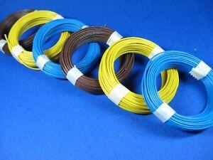 ( 0,166€/ M) Mètres Câble (Toron) pour Modellbahn #Q1
