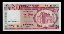 New listing Bangladesh 10 Taka ( 1997 ) Pick # 33 Unc.