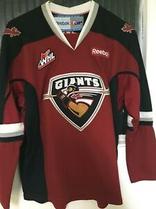WHL Vancouver Giants jersey Youth XL Official REEBOK CHL made in Canada