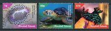 Marshall Islands 2018 MNH Marine Life Definitives Part I 3v Set Turtles Stamps