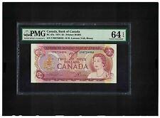 Canada 2 Dollars 1974 PMG 64 : R.W. Lawson | G.K. Bouey : UM8726846