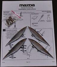 Mazda RX-8 RX8 Luftauslassapplikationen LAA Kiemen Aluminium NEU Bodykit Tuning