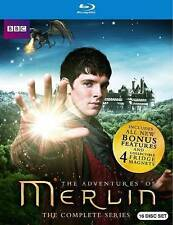 Merlin: The Complete Series (Blu-ray Disc, 2014, 16-Disc Set)