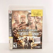 WWE Legends of WrestleMania (Sony PlayStation 3 PS3, 2009) No Manual
