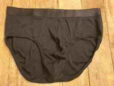 Men's 2(X)IST Black Pima Brief Size XL