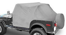 Smittybilt Water Resistant Cab Cover With Door Flap Jeep Wrangler YJ 87-91  1060
