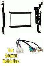 Double Din Car Radio Stereo Install Dash Trim Kit Combo for Lexus SC300/SC400