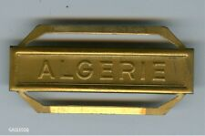 FRANCE MILITARY CIVILIAN FRENCH MEDAL - CLASP - ALGERIE BAR