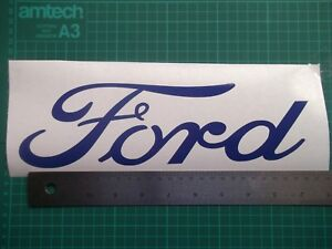 Ford..Door... vinyl decal sticker ....x2..