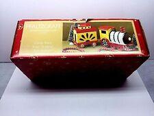 Pfaltzgraff Christmas Heritage Train Car candy/cookie jars 1999