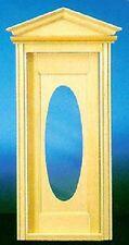 Dollhouse Miniature - CLA76002 - Victorian Oval Door with Window